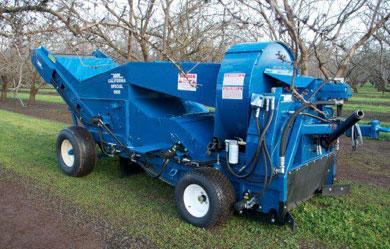 Harvester o Recogedora Tiradas por tractor
